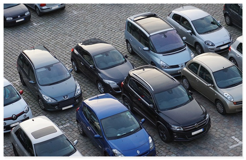 Parkplatz Stadt