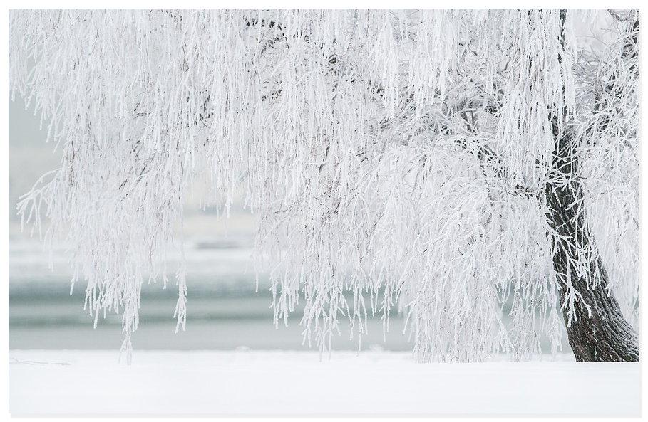 Winter Eis Blitzeis