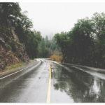 Regen Nasse Fahrbahn Aquaplaning