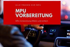MPU Vorbereitung: Wie am besten vorgehen?